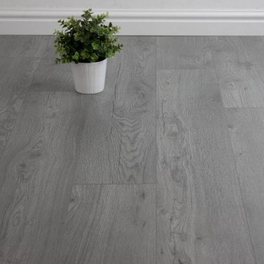 Superior - 7mm Laminate Flooring - Steel Grey
