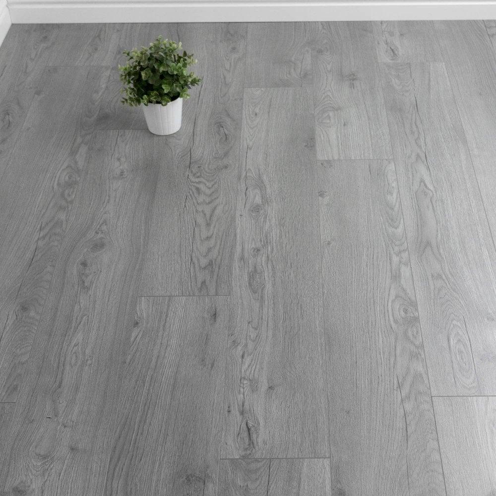 Steel Grey Laminate Flooring, Grey Bathroom Laminate Flooring