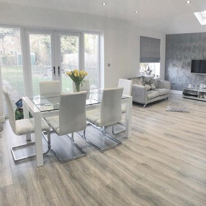 Sydney - 7mm Laminate Flooring - Grey Oak