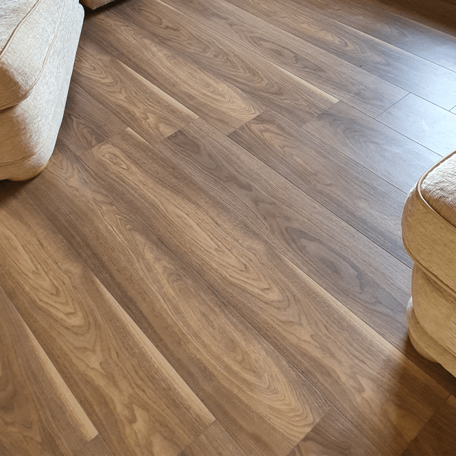 Sydney - 7mm Laminate Flooring - Papaya Walnut