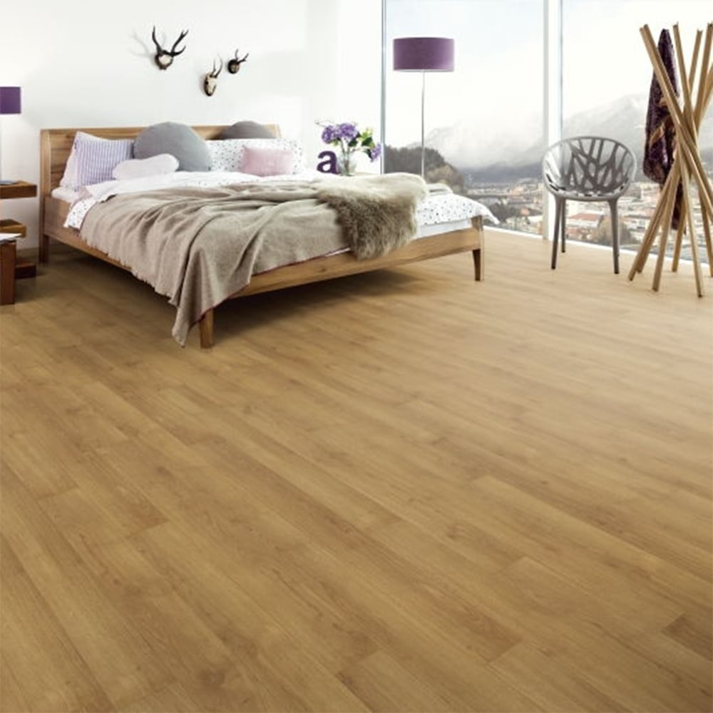 Laminate Flooring Moisture Barrier Concrete Patio Deck Flooring: Sydney Sunrise Oak 7mm Laminate Flooring