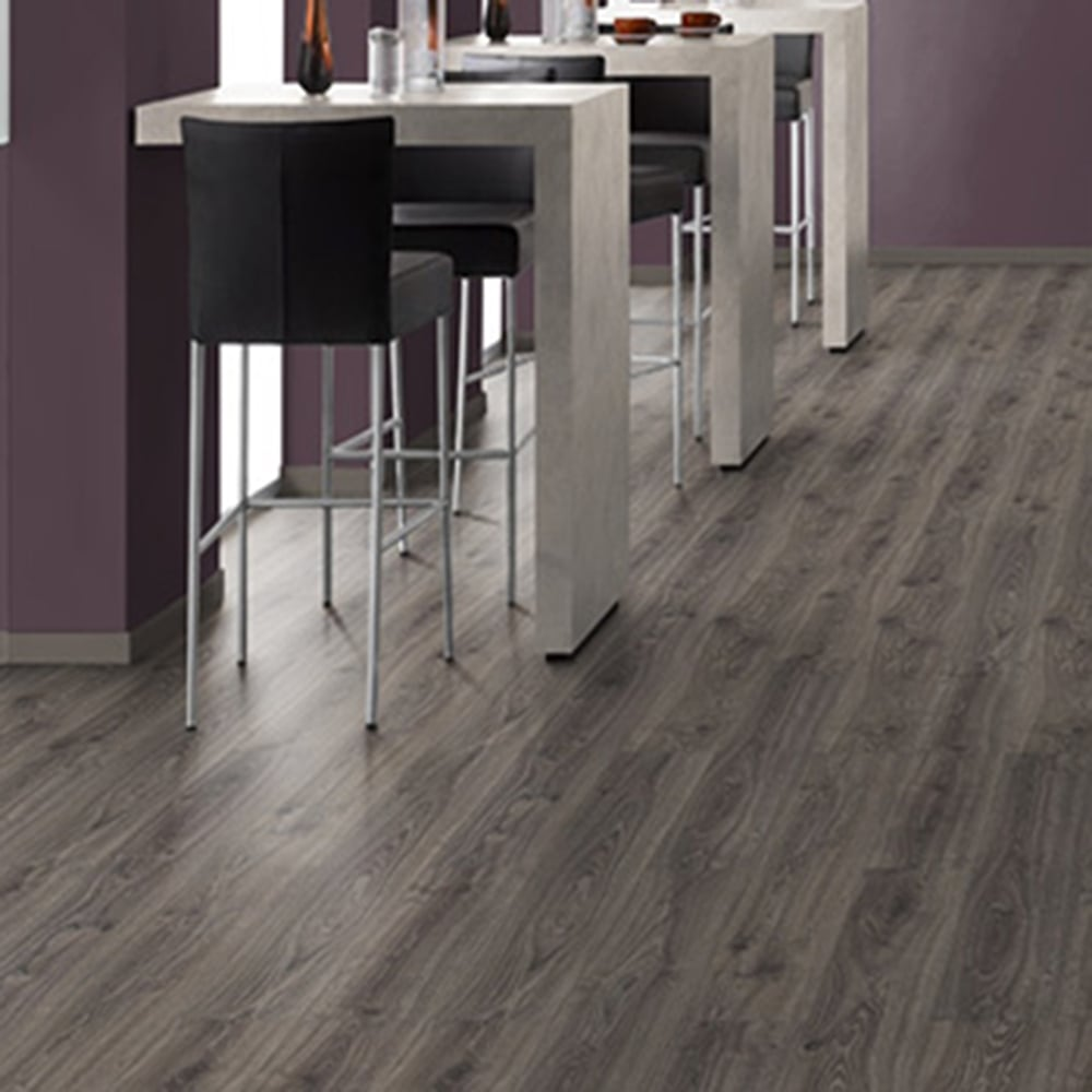 Sydney Dark Ash Oak Laminate Flooring 7mm Flat AC3 248m2