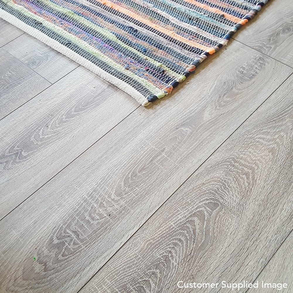 Sydney Grey Oak 7mm Laminate Flooring