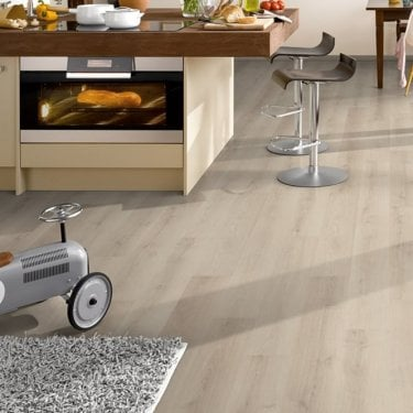 Sydney Ivory Oak Laminate Flooring 7mm Flat AC3 2.48m2