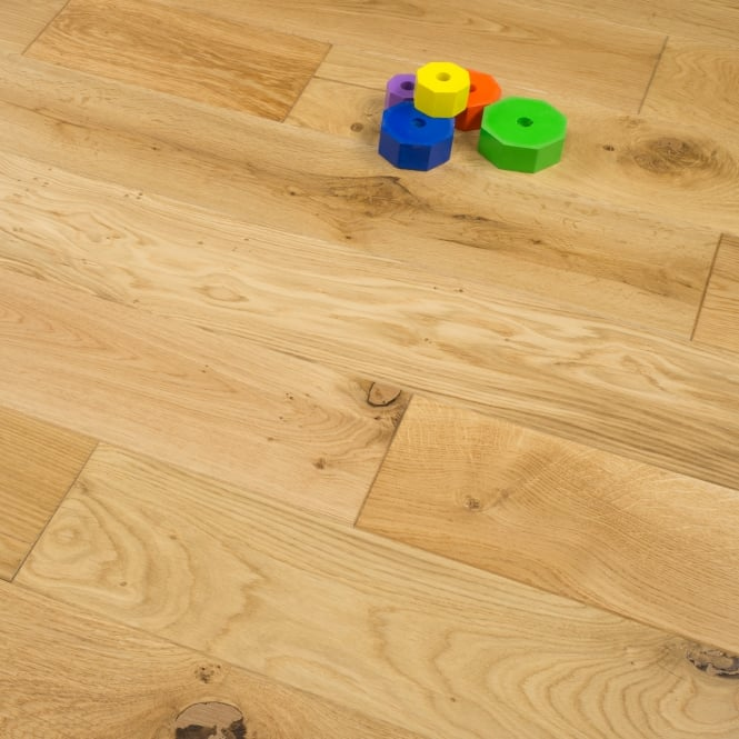 Timeless - 18/5mm X 150mm Engineered Flooring - Oak Brushed and Lacquered