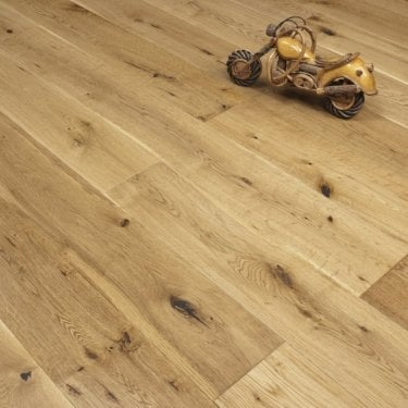 Timeless - 18/5mm x 150mm Engineered Flooring - Oak Lacquered