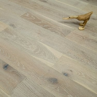 Timeless - 18/5mm x 150mm Engineered Flooring - Oak Smoked Brushed and White Oiled