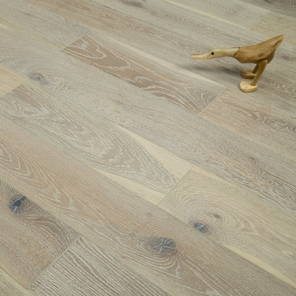 Timeless 18mm Engineered Flooring Oak Smoked Brushed