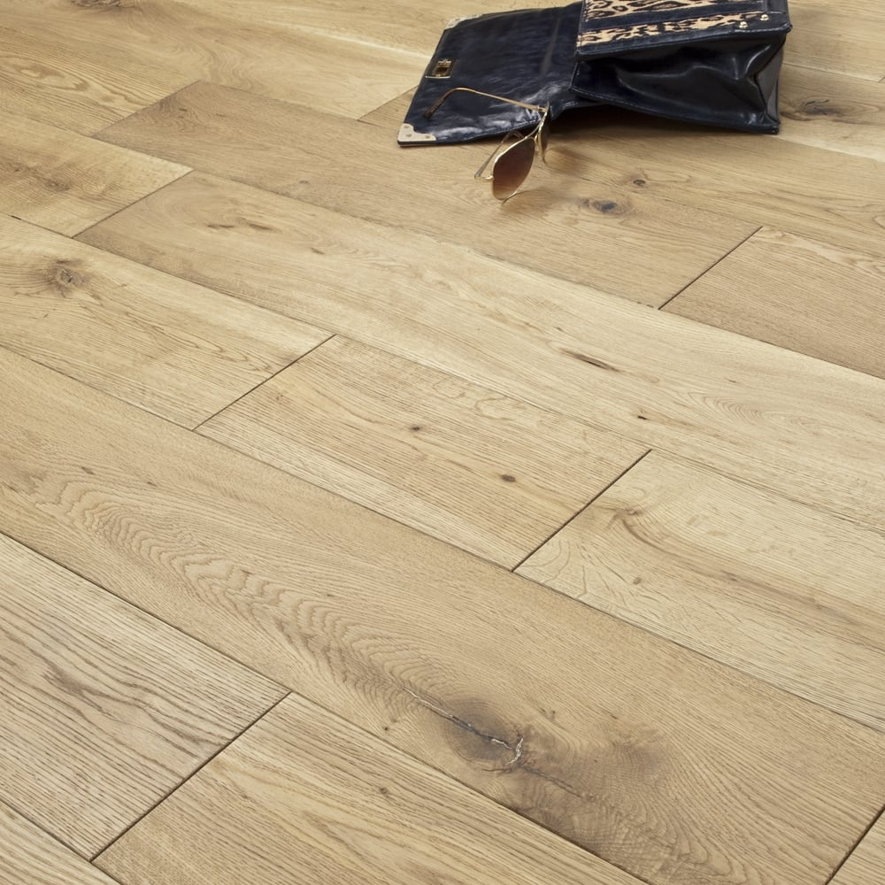 Inexpensive Flooring Solutions: Timeless Engineered Flooring 18/5mm X 150mm Oak Brushed