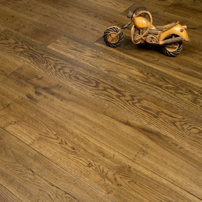 Timeless Engineered Flooring 18/5mm x 150mm Oak Handscraped Brandy 1.98m2
