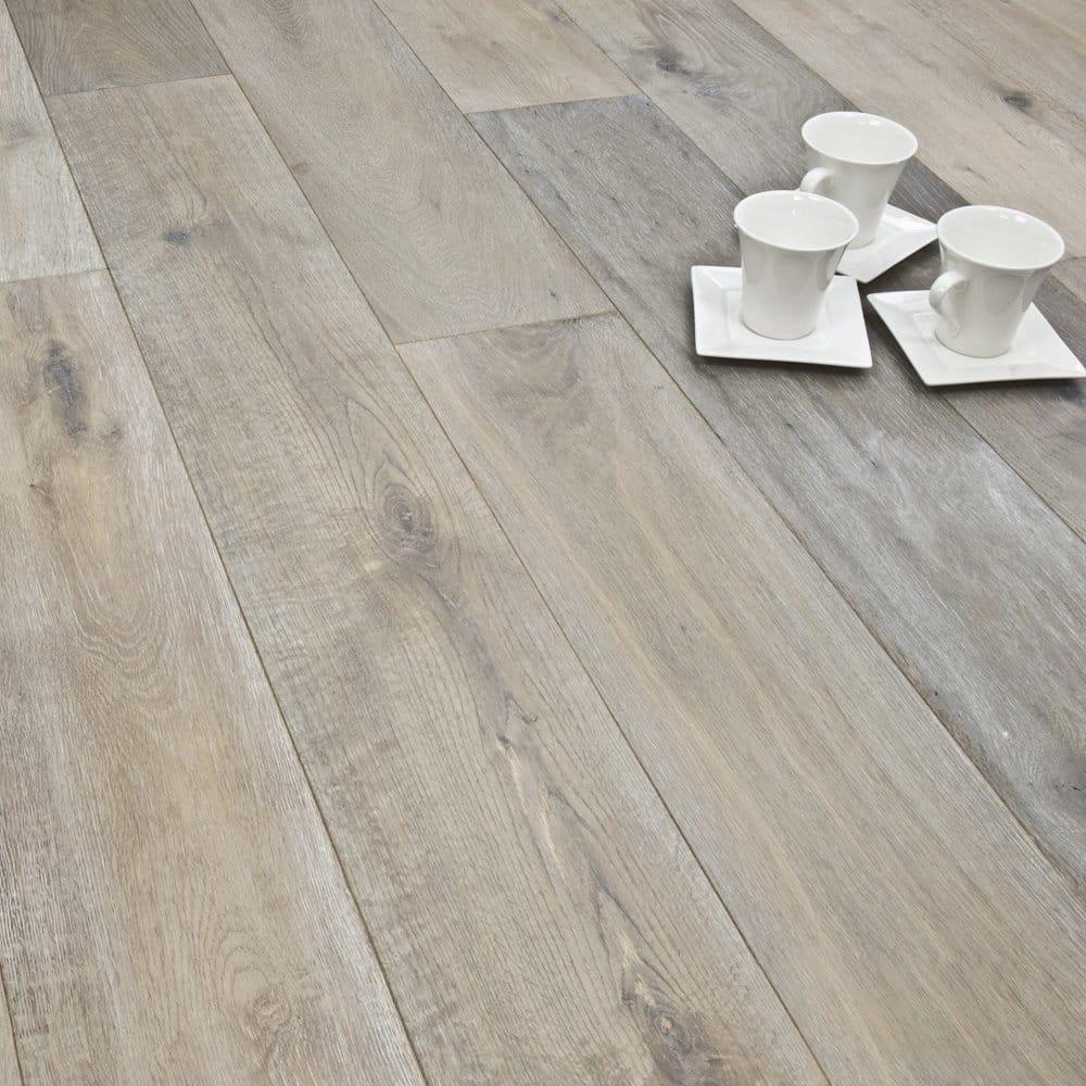Titanium series engineered flooring 15 4mm x 190mm oak for Manufactured wood flooring