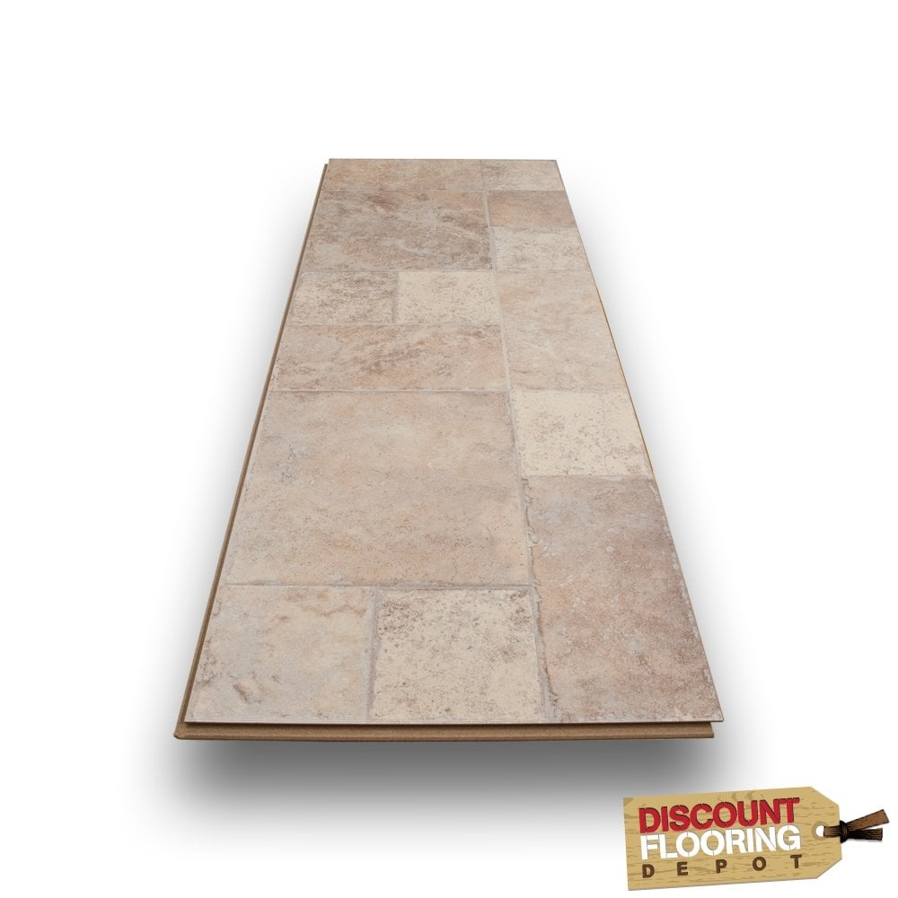 Toronto Spanish 8mm Flat Ac3 Tile Laminate Flooring 2
