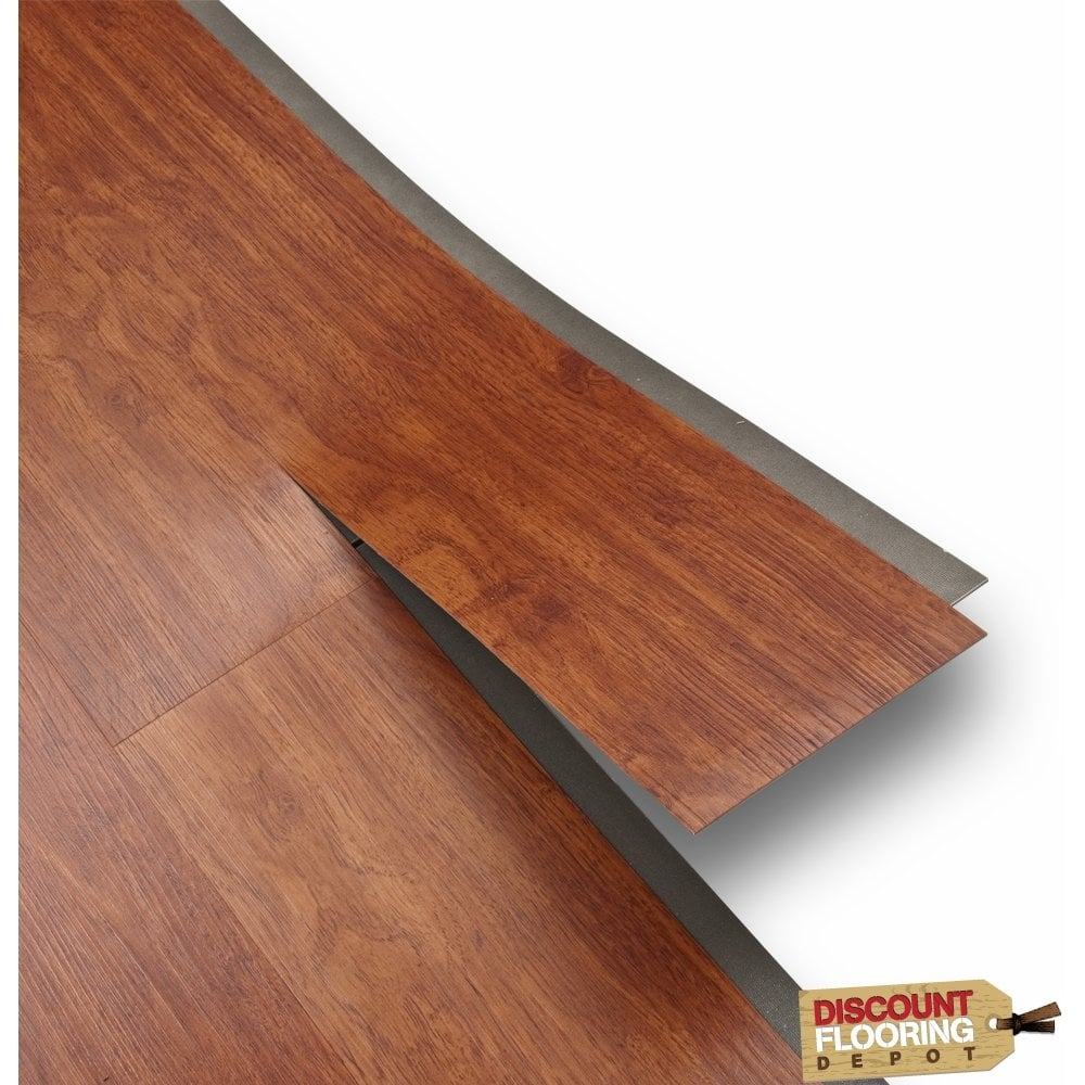 versatile luxury vinyl cherry rosewood 4mm from. Black Bedroom Furniture Sets. Home Design Ideas