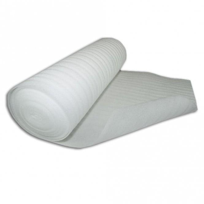 White Foam 2mm Underlay (15m2 Coverage)
