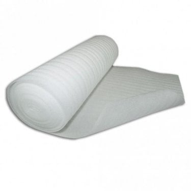 White Foam 2mm Underlay (15m2 Coverage)