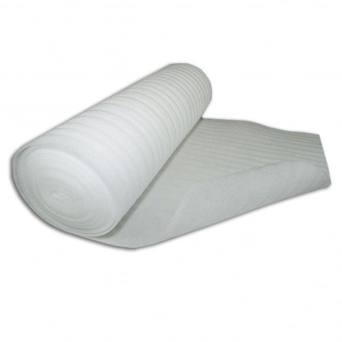 White Foam 2mm Underlay (25m2 Coverage)