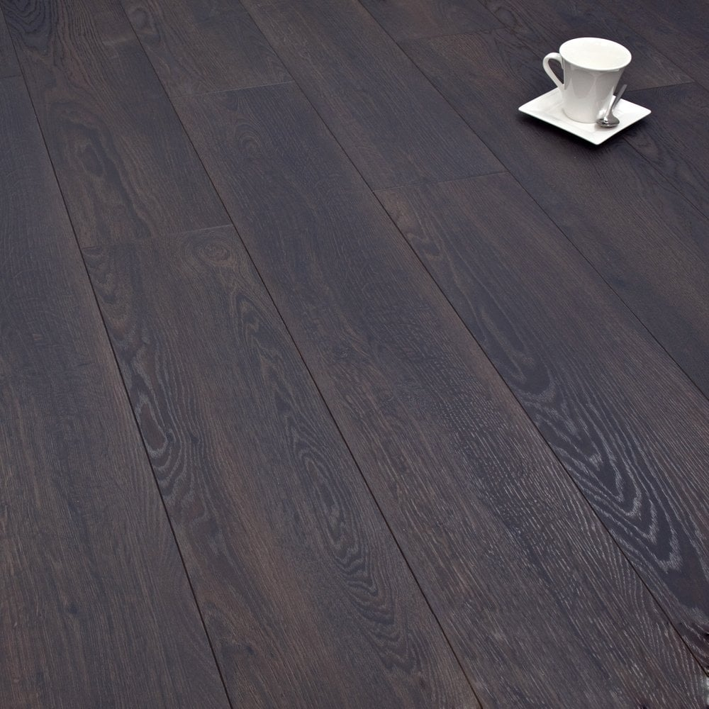 Winchester charcoal oak 8mm laminate flooring v groove ac4 for Ac4 laminate flooring