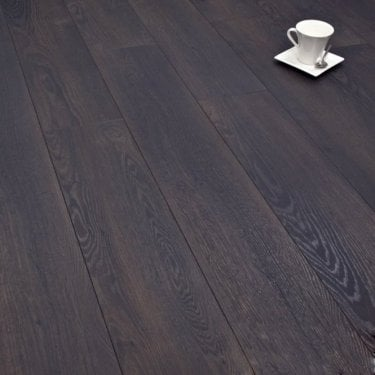 Winchester Charcoal Oak 8mm Laminate Flooring V-Groove AC4 2.162m2