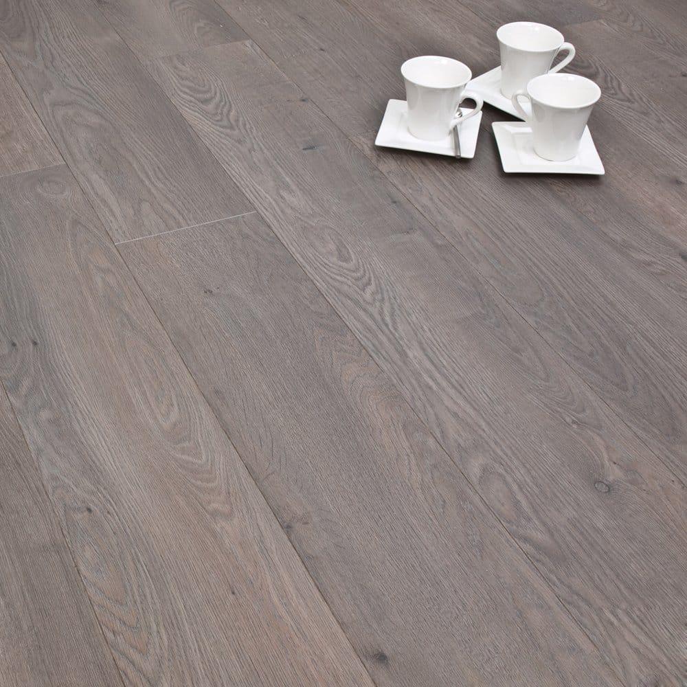 Winchester Grey Oak 8mm Laminate Flooring V Groove Ac4 2