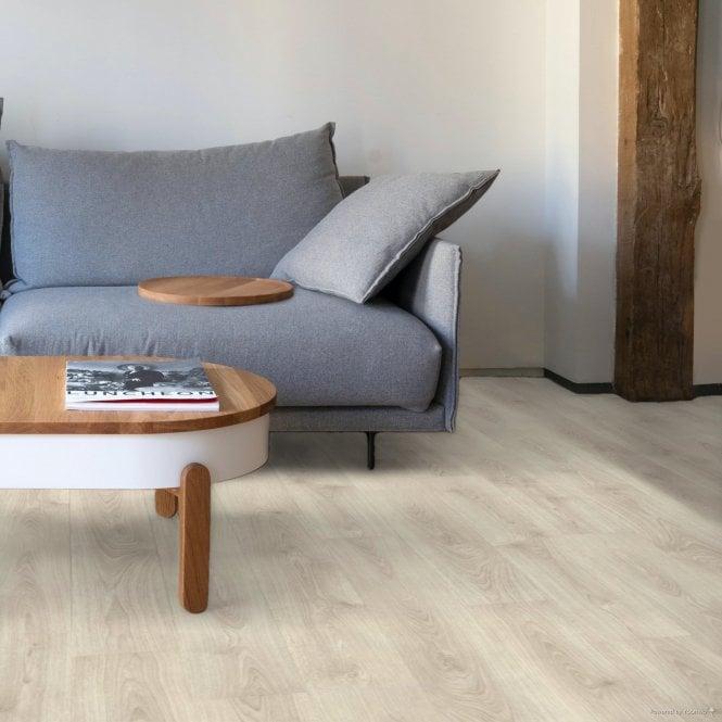 Wood Step - 8mm Laminate Flooring - Alpine Light Oak