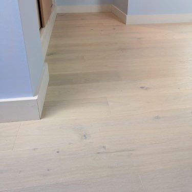 Woodland Click - 14mm x 130mm Engineered Wood Flooring - Various Cream Matt Lacquered