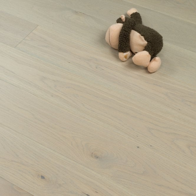 Woodland Click - 14mm x 130mm Engineered Wood Flooring - Various Grey Matt Lacquered